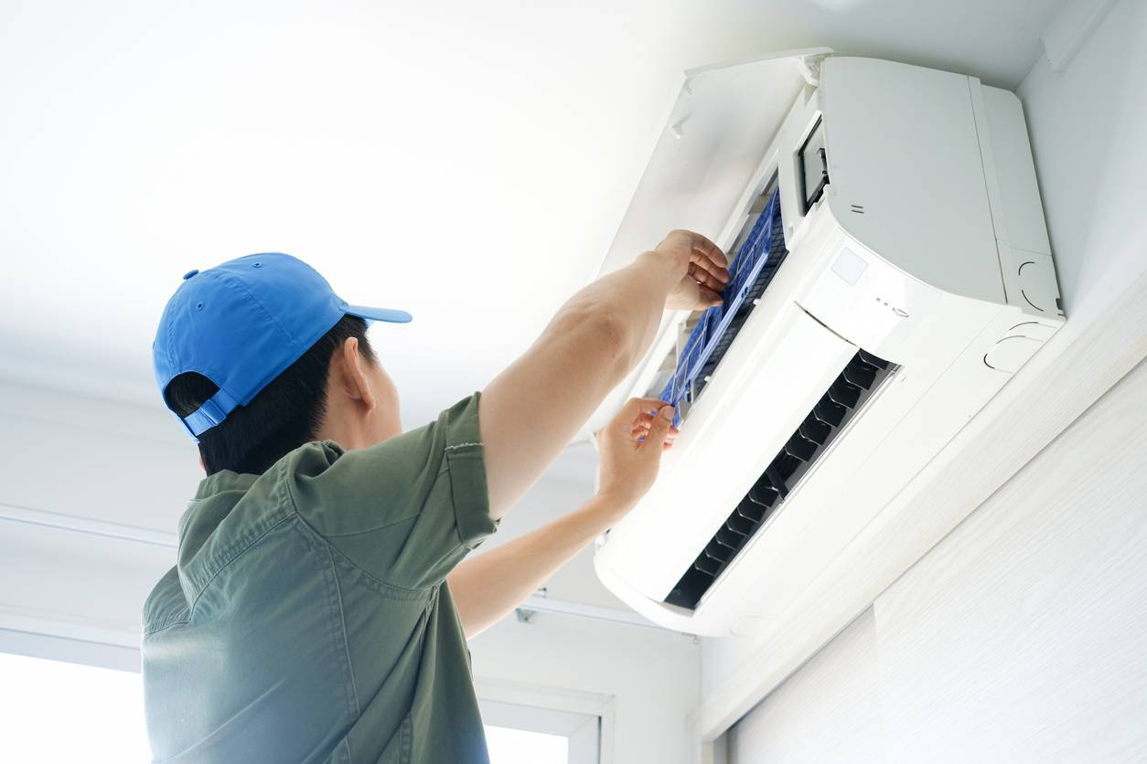 Professionnel climatisation installation climatiseur