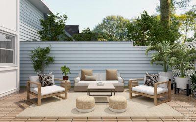 Un bel aspect pour vos espaces extérieurs à Nice grâce à l'aménagement terrasse!