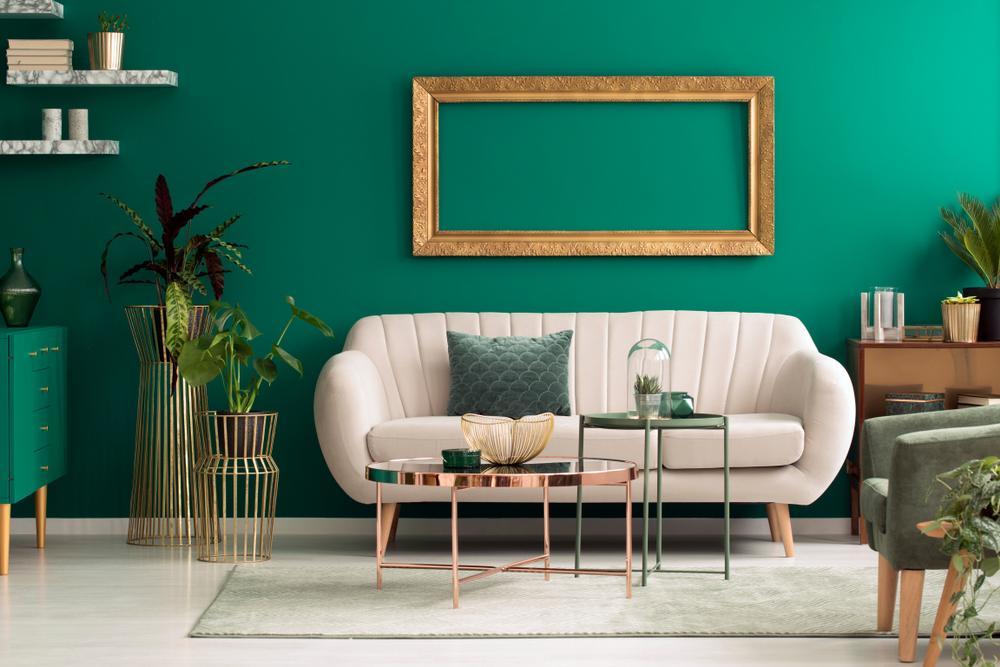 6 couleurs pour sublimer votre intérieur avec du vert canard!