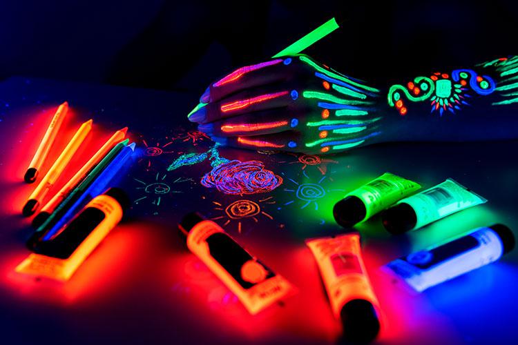 L'utilisation de la phosphorescence dans la décoration