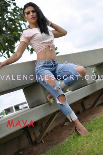 Maya, escort del este