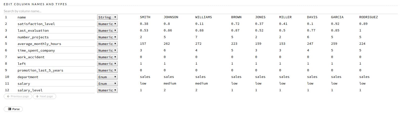 HR data 2