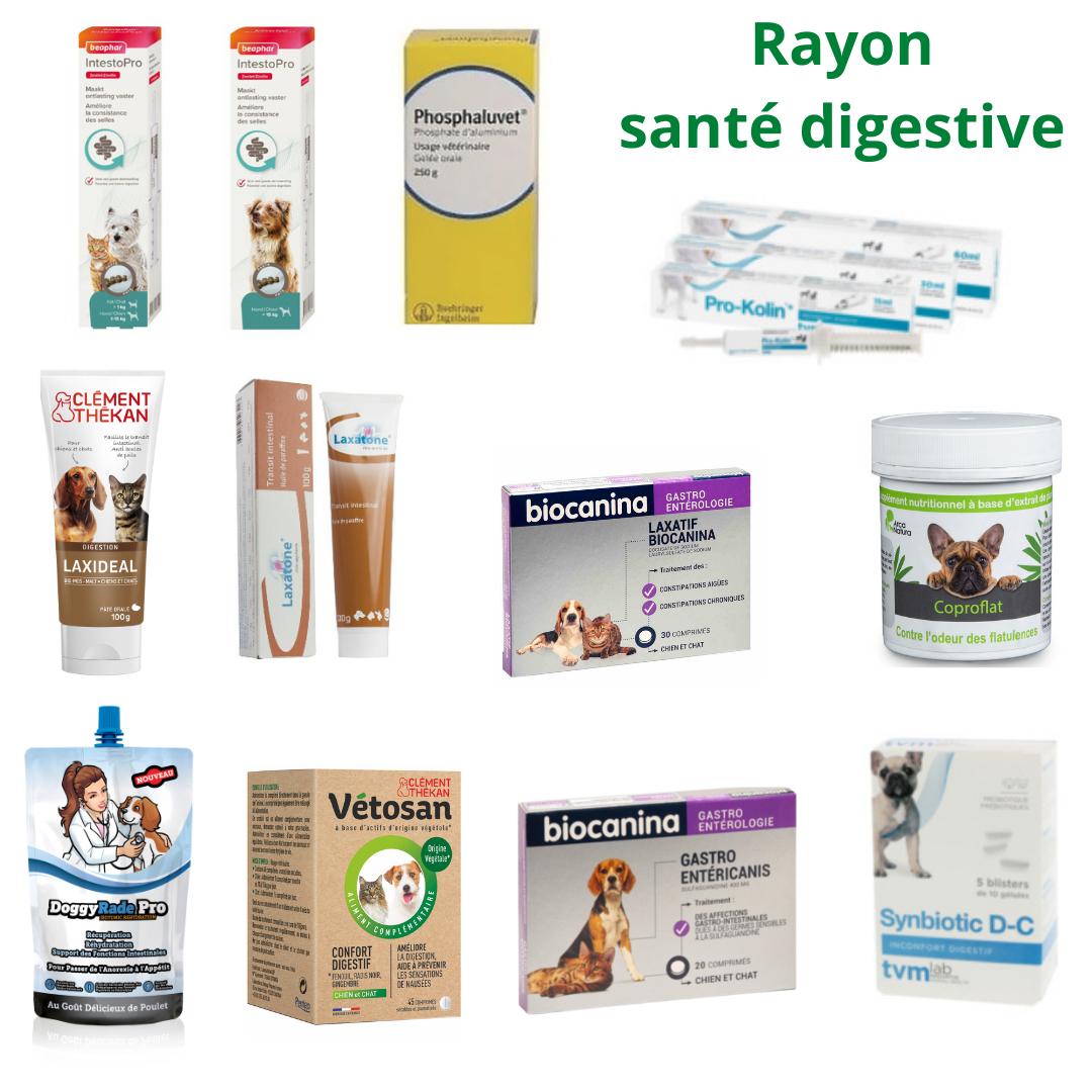 Rayon santé digestive