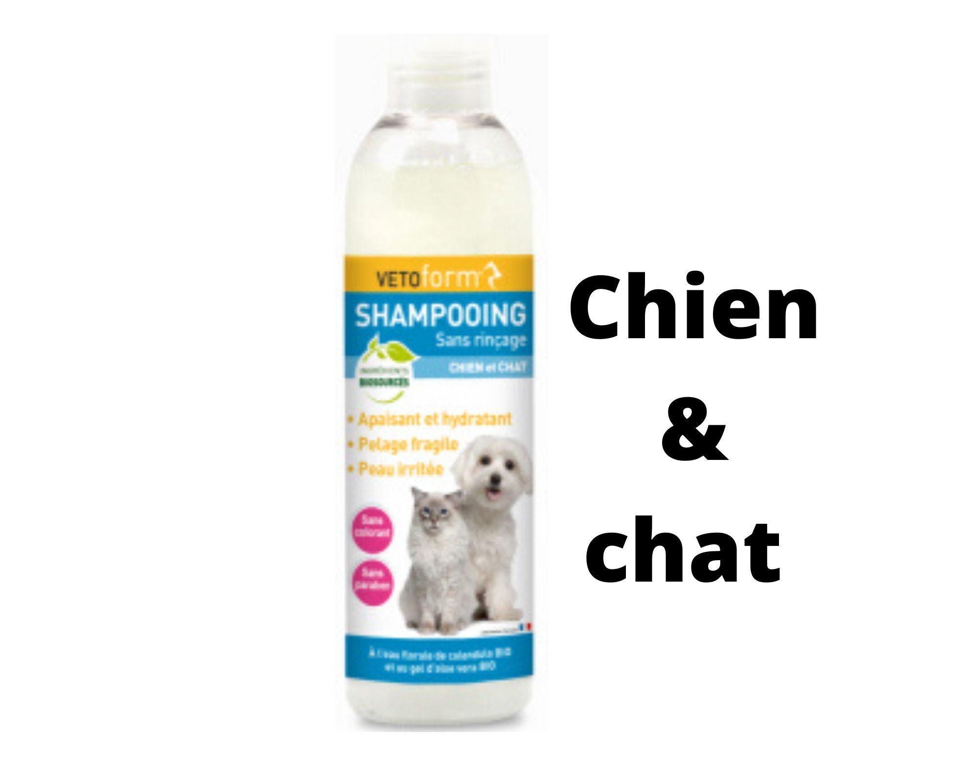 VETOform shampooing sans rinçage chien et chat