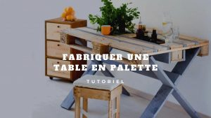 table en palette