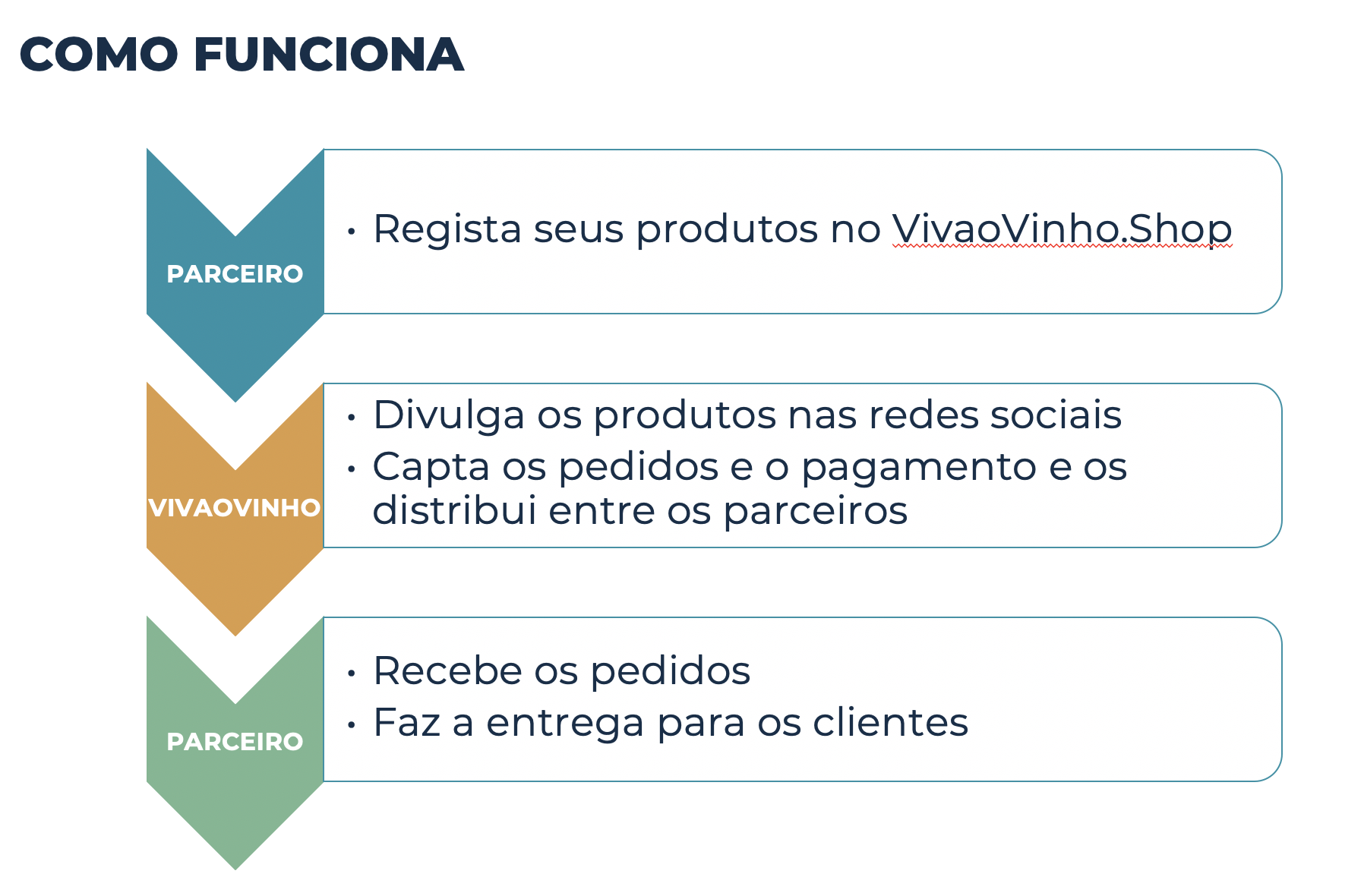 Como funciona o VivaoVinho.Shop