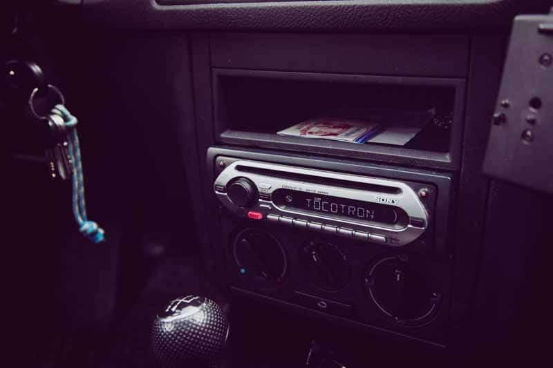poste radio voiture pas cher