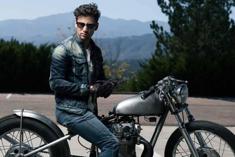 achat blouson moto