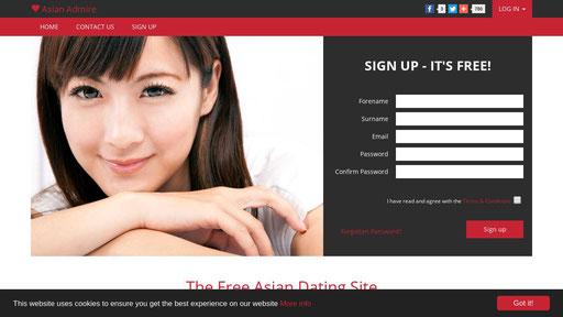 Asian dating online login