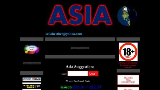 Asia betting tips exchange betting sites ukulele