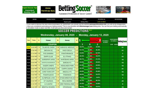 Bettingsoccernet bet on it hsm 2