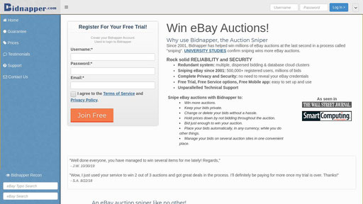 Esnipe Com Bid On Ebay Automatically