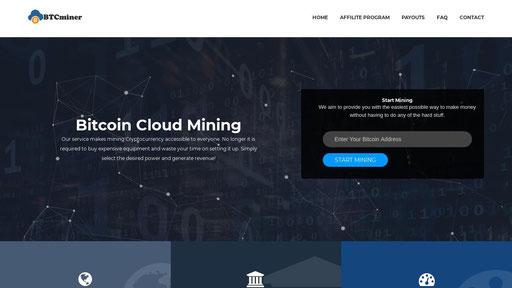 Btcminer Best Bitcoin Cloud Mining Company Online