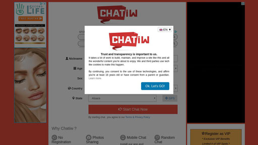 1 Chatiw Free Chat Rooms Online With No Registration Online Chat