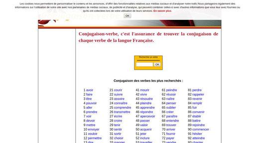 Conjugaison Verbe Fr Traffic Ranking Similars Xranks Com