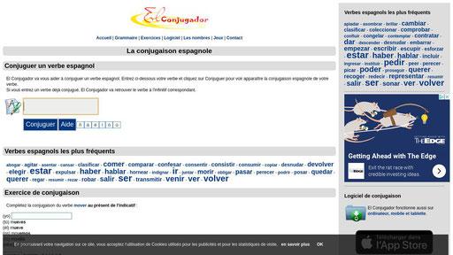 La Conjugaison Espagnole Sur El Conjugador