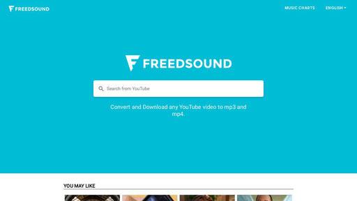 freedsound free youtube to mp3 converter online