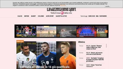 Gazzetta It La Dello Sport I News Su Calcio Basket