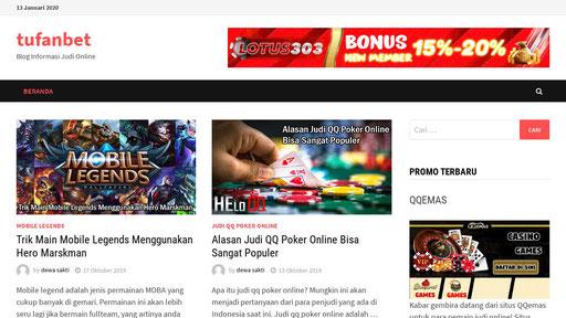 Tufanbet Blog Informasi Judi Online