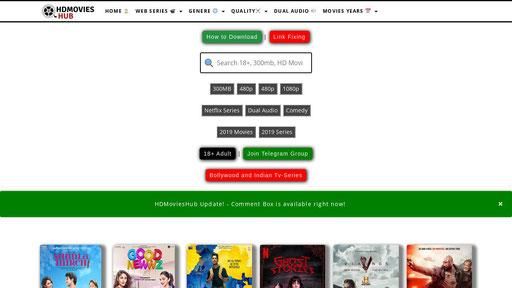Hubflix 2020: Latеѕt Link Bollywood, Hollywood Mоviеѕ Download 480p, 720p, 1080p