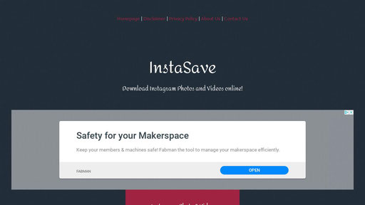 Instasave Xyz Download Instagram Photos And Videos