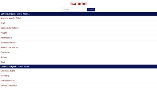 Isaiminimp3.info - Isaimini | tamil original mp3 songs...