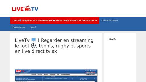 Sx ru live tv LiveTV /