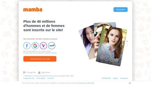 Chat login mamba VIP Signals