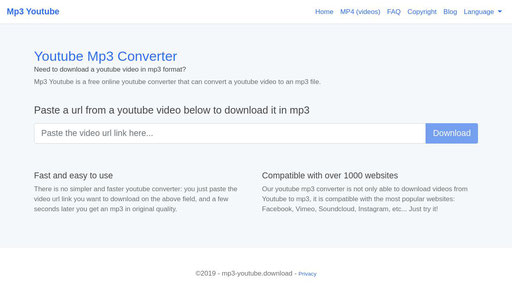 Youtube Downloader Download Youtube Videos In Mp3 Mp4 3gp Y2mate Com