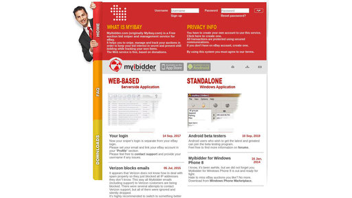 Myibidder Com Free Auction Bid Sniper And Management