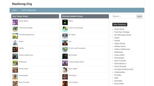 Naasong.org - Naa songs | telugu mp3 songs free download