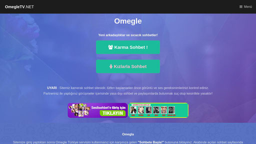 Tv omegle com Omegle