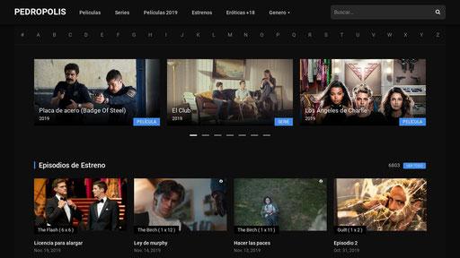 Pedropolis Ver Películas Y Series Online Gratis En Hd Y Sin Cortes