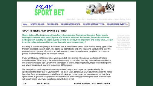 Bet sport win 11 betting igraonica