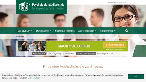 psychologie master nc