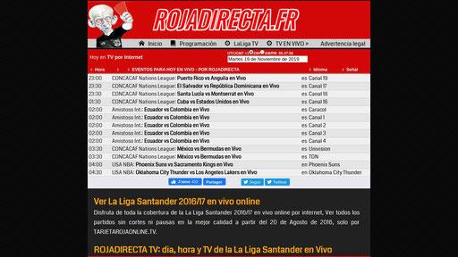 Rojadirecta Ver Futbol En Vivo Tarjeta Roja Tv Pirlo Tv