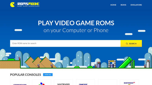 Roms free download for gba, snes, nds, gbc, gb, n64, nes, ps1, ps2, psp,  mame, sega and more! - romsmode.com