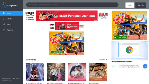Sarigama.lk - Sri lanka's premium music portal
