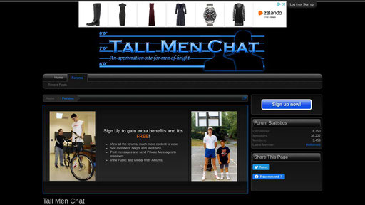 Chat tall men Tall guy