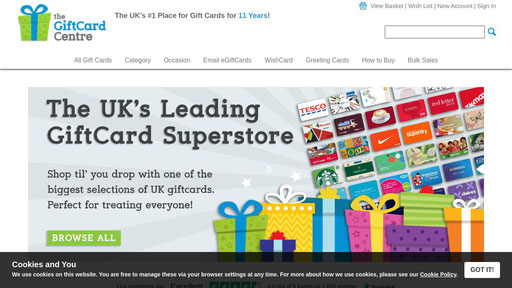 123giftcard Co Uk Buy All Your Gift Cards Online Email