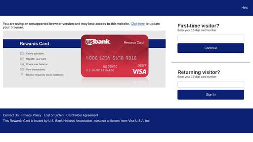 Usbankrewardscard.com - traffic ranking & similars - xranks.com