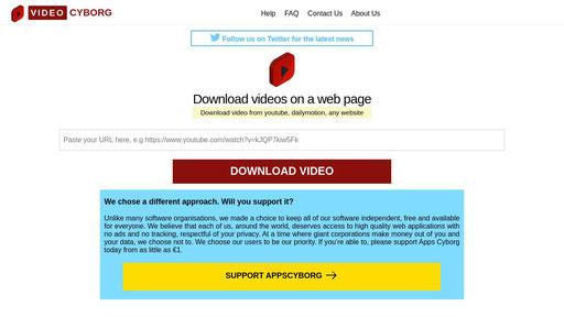 Videocyborg Online video