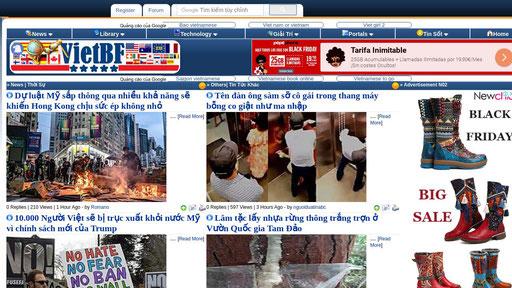 Vietbf Vietnamese Best Forum Vietbf.com is using 25 web technologies in analytics, blog, widget, marketing automation and one more category. xranks