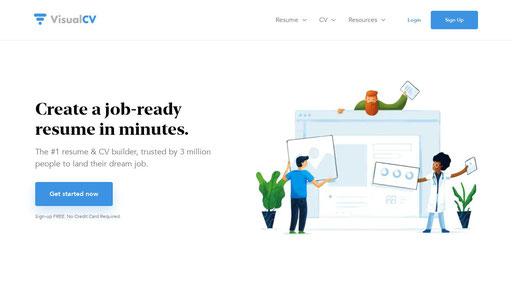 Visualcv Com Online Cv Builder Professional Resume