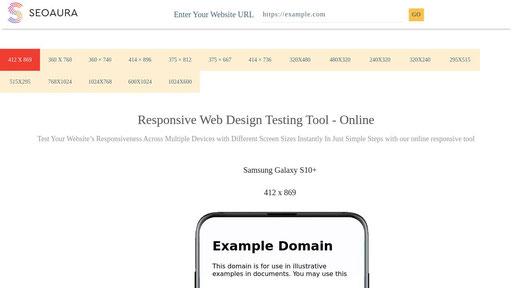 Responsivetesttool Com Website Responsive Testing Tool