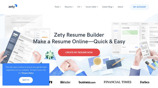 Zety Com Resume Builder Make A Resume Online In 5